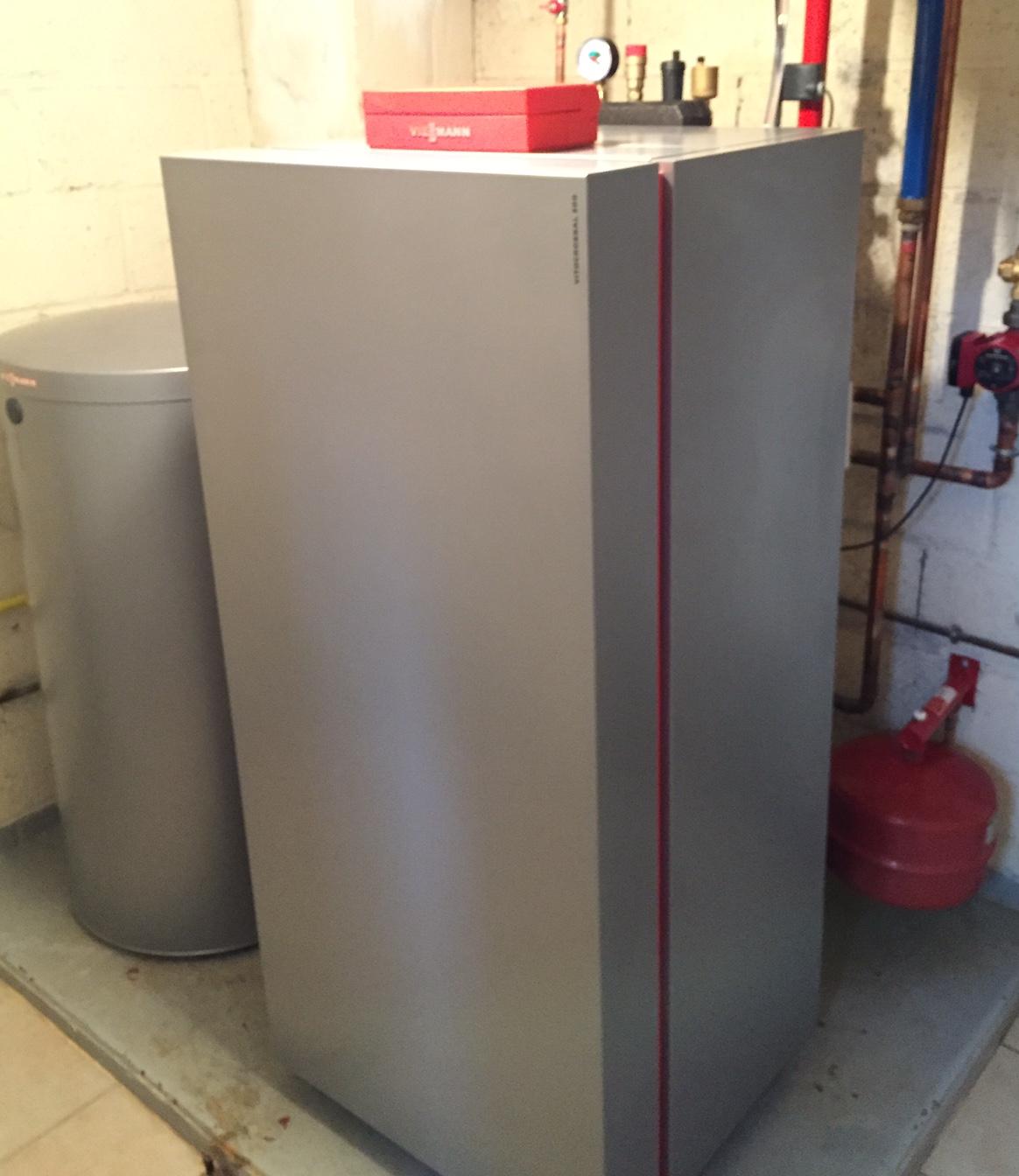 Chaudiere vitocrossal 300 à condensation