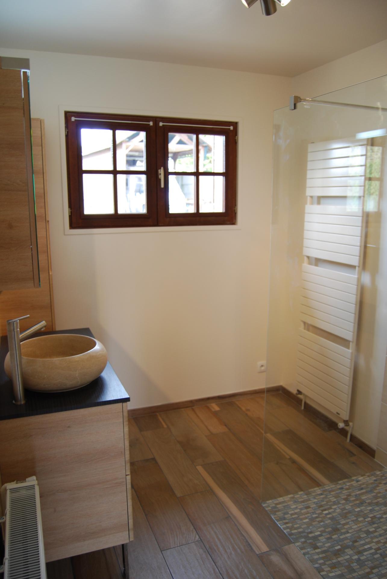 Aménagement de salle de bain dans l'Eure