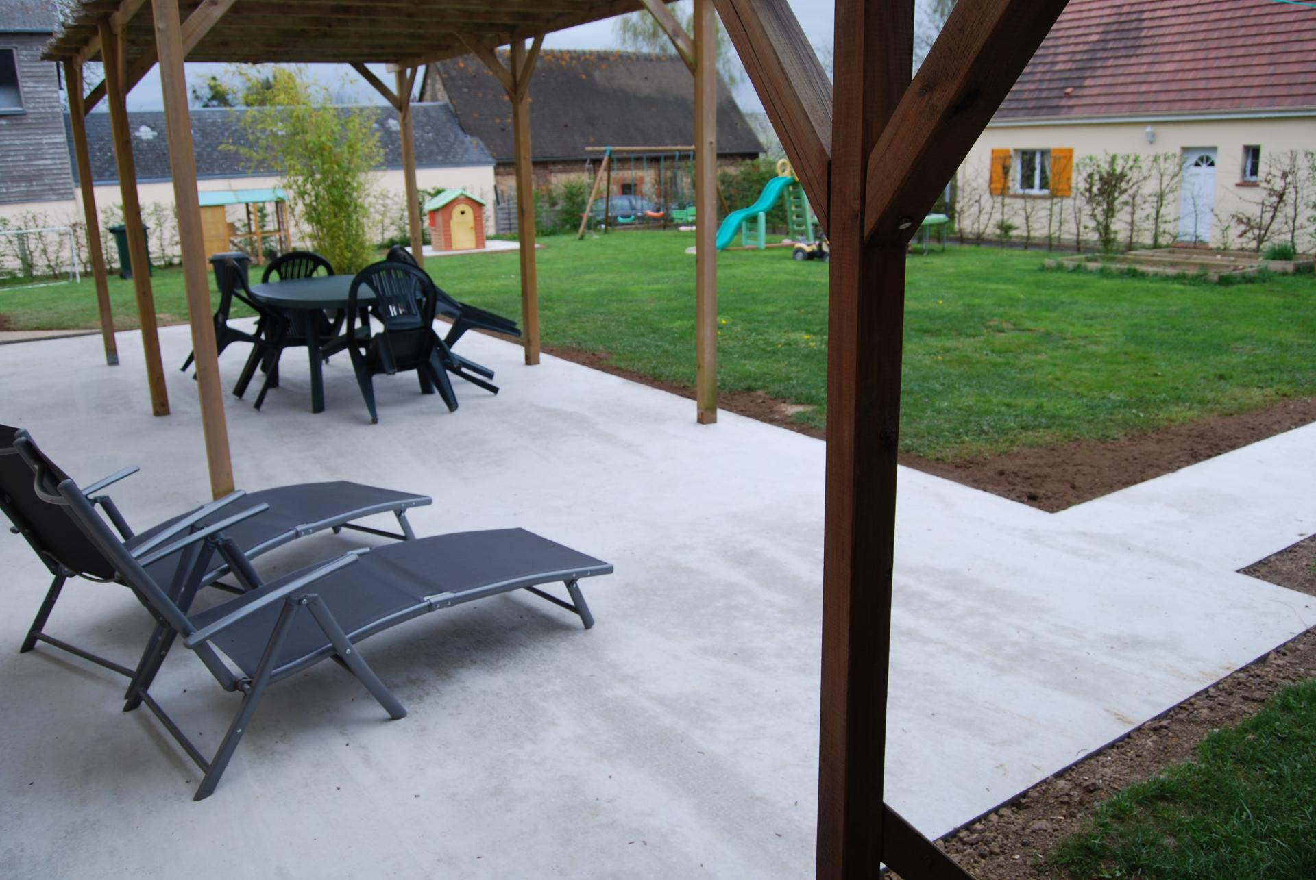 Terrasse louviers acquigny for Piscine louviers