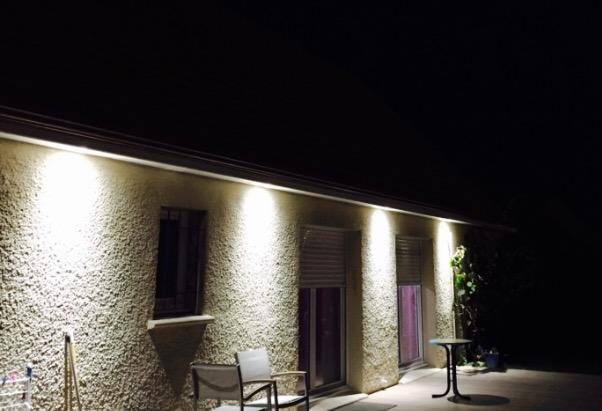 Eclairage exterieur à Louviers