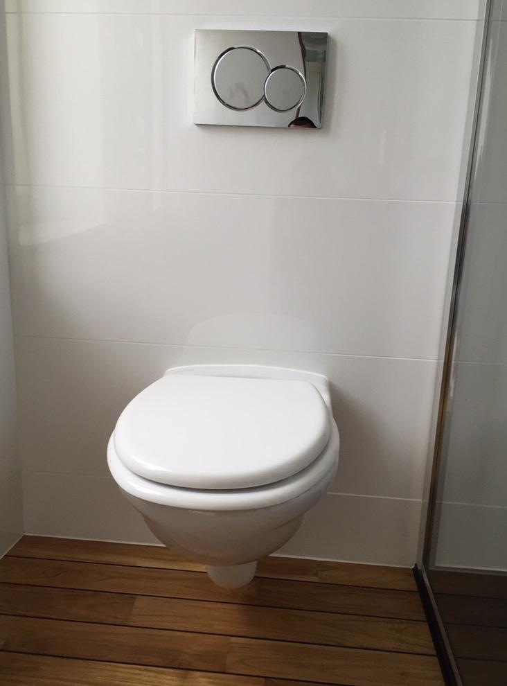 Wc Suspendu - Rénovation de salle de bain à Louviers