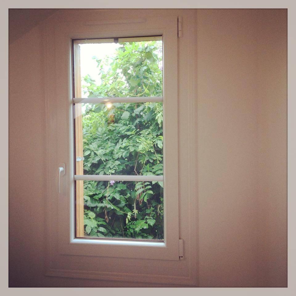 Fenêtre 1 vantail pvc bicolor à Louviers