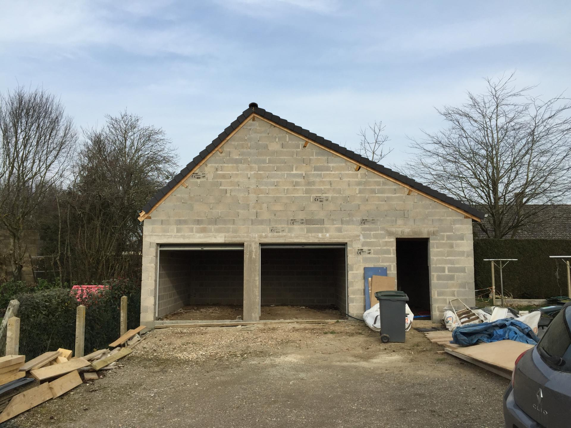 Construction de garage à Louviers