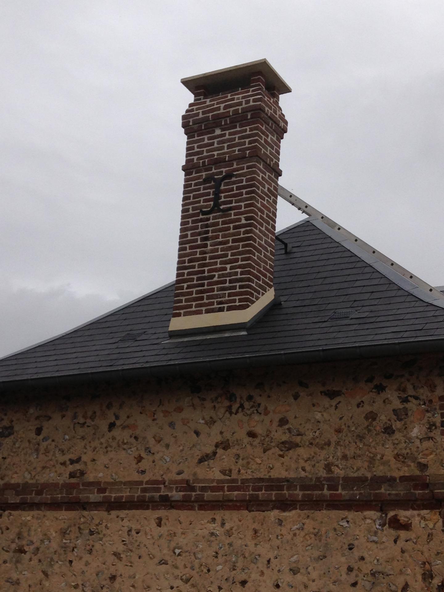 Rénovation de cheminée travaux de maçonnerie à Gaillon Louviers Le Neubourg Evreux