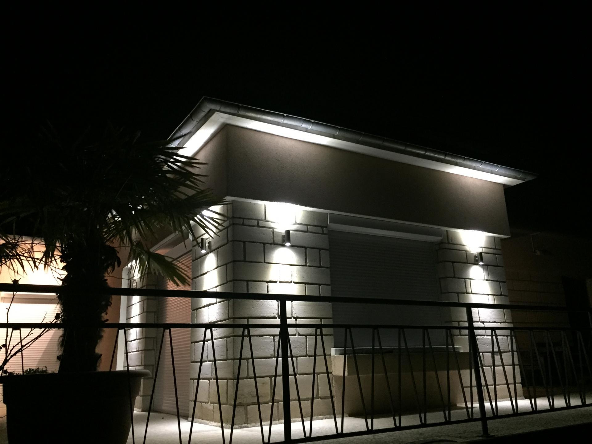 Eclairage extérieur à Led à Acquigny près de Louviers