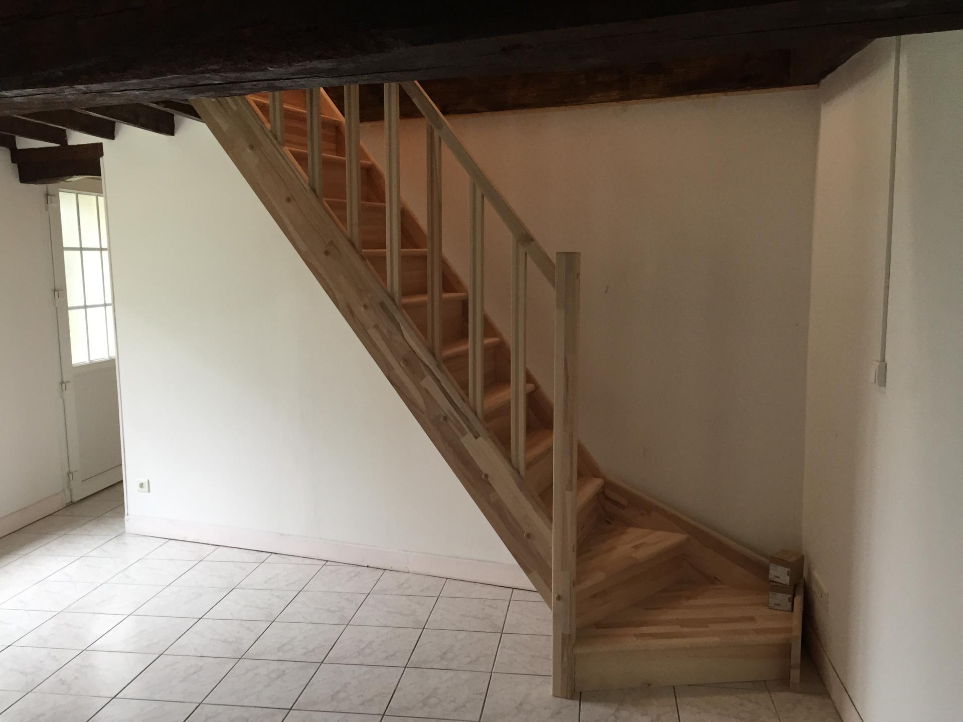 Création de trémie et installation d'un escalier