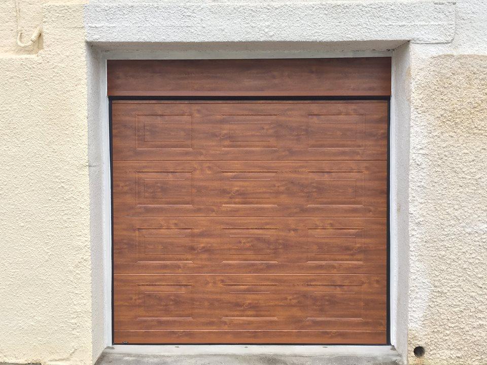 Porte de garage sectionnelle à Louviers